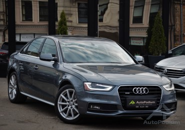 Audi A4 2015 S-line Quattro