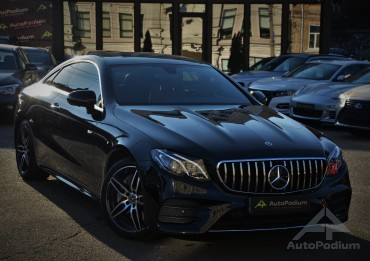 Mercedes-Benz E 400 2018 Coupe4matikOfficial