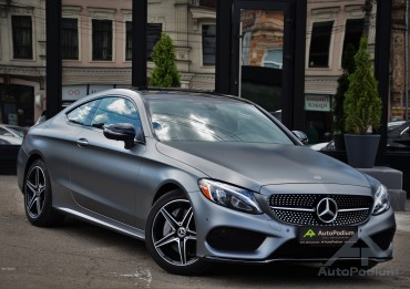Mercedes-Benz C 300 2018 Coupe AMG Line