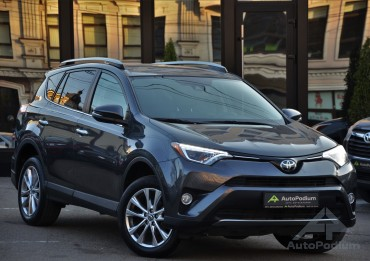 Toyota Rav 4 2018 Limited AWD 4x4