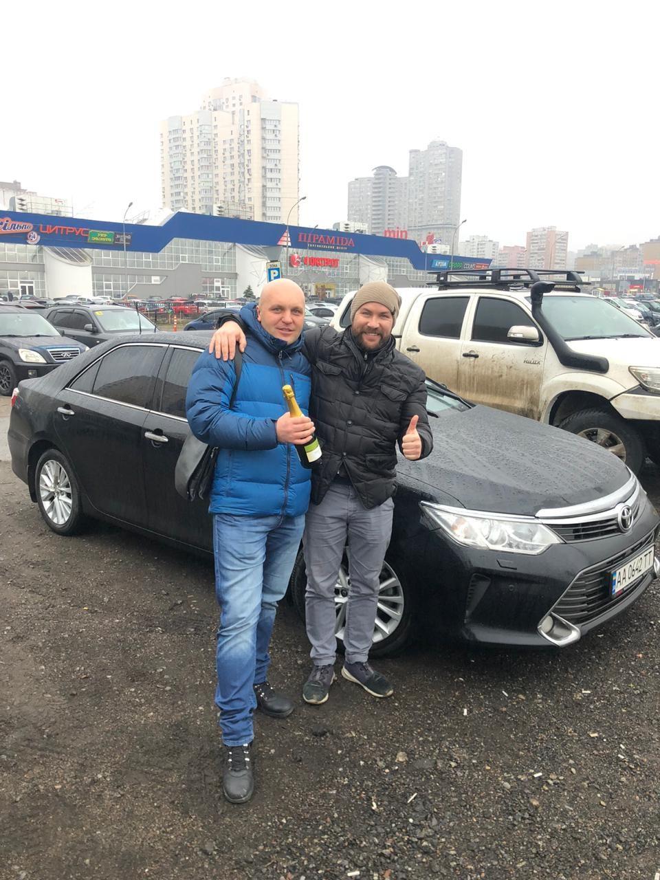 Toyota Camry 2014, Киев