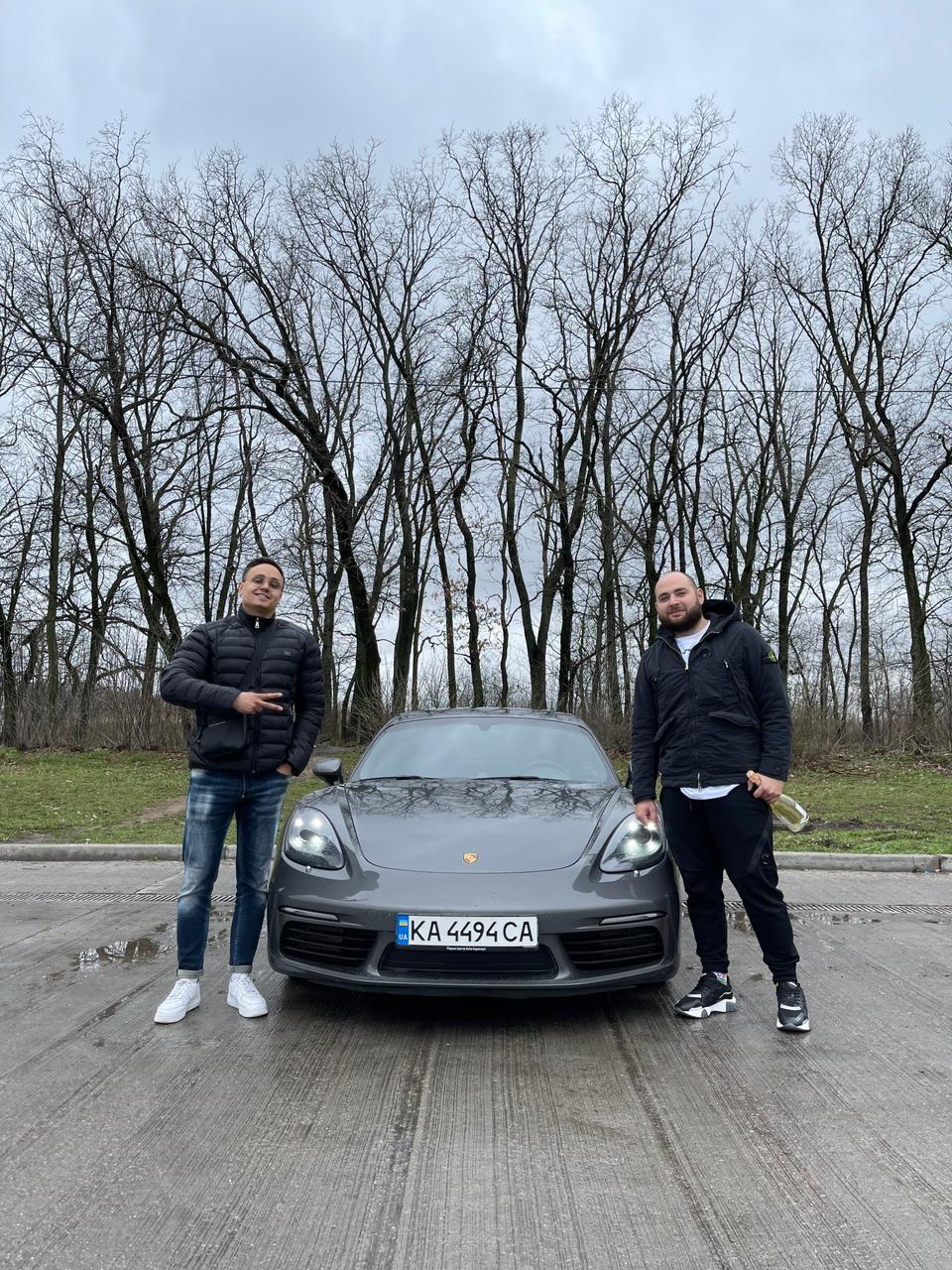 Porsche 718 Cayman S coupe 2016